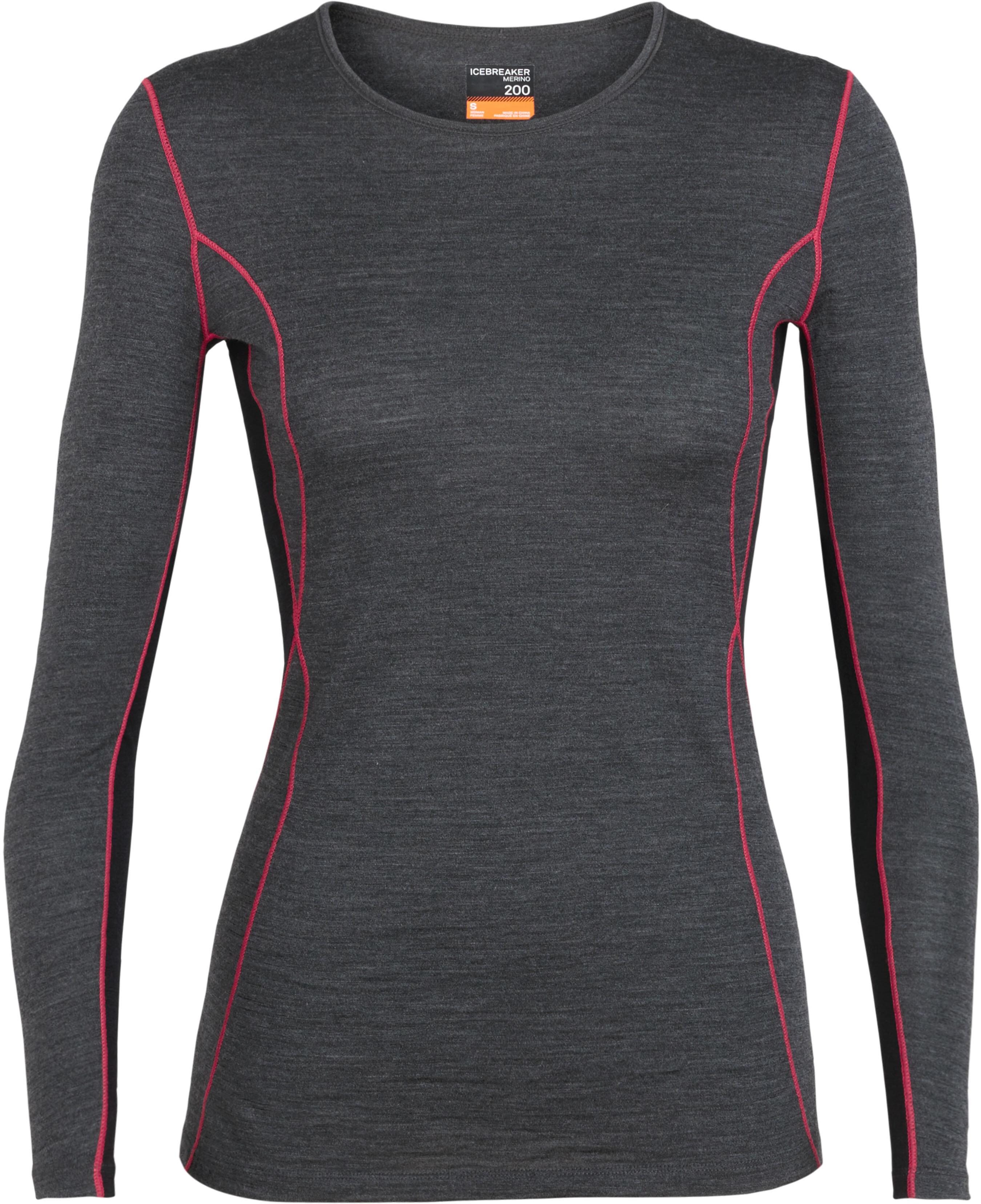 b0fcb8db02ee Icebreaker 200 Oasis Deluxe - Sous-vêtement Femme - gris rose sur ...